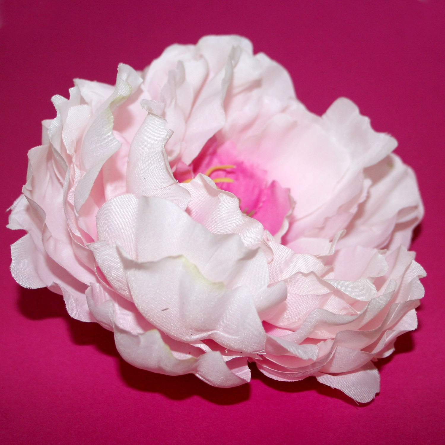 Cotton Candy Pink Peony Artificial Flowers