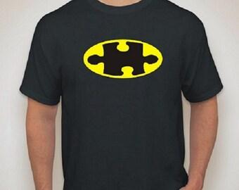 Batman Autism Awareness T-Shirt for Parent or Teacher