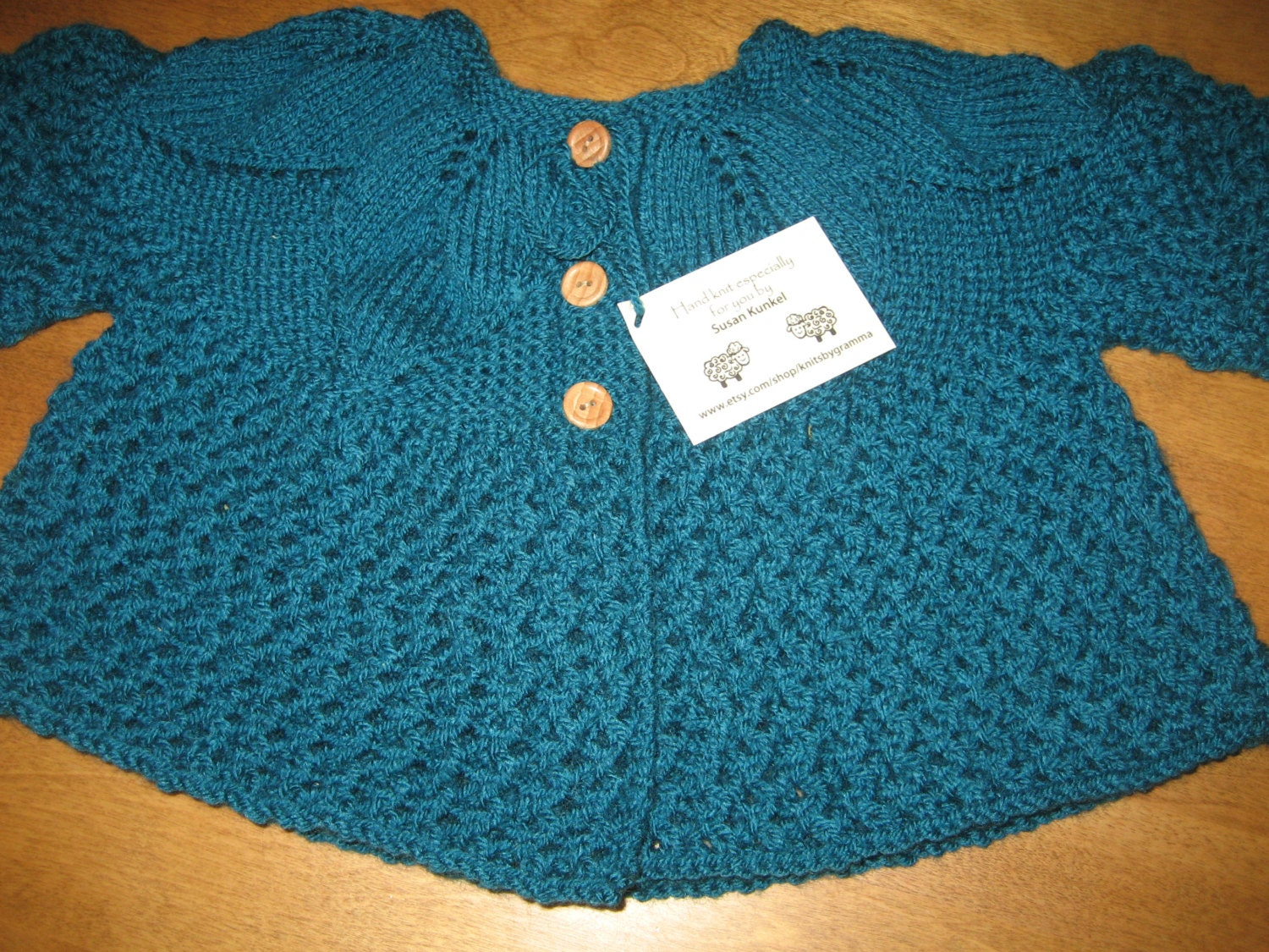 Knitting Baby Sweater Measurements : Baby knit sweater sizes month size