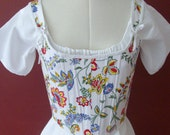 """1790s Early Regency Reed Stays Corset Ready to Ship - Bust 34-36"""" Waist 27-29"""""""