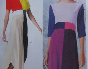 Dress Sewing Pattern UNCUT McCalls M6645 Sizes 6-14