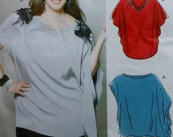 Tunic Sewing Pattern UNCUT McCalls M6204 Sizes 8-16