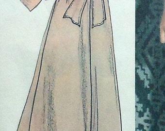 Vintage Gown Sewing Pattern UNCUT McCalls 4730 Size 16