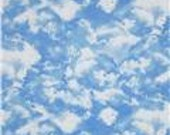 Gorgeous Cloud Fabric--- Quilting Style--HARD FIND