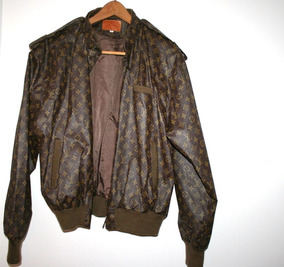 vintage louis vuitton 80s members only jacket size medium