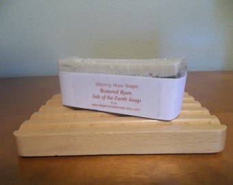 Buttered Rum Salt of the Earth Soap 3oz