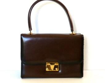 Vintage Ombre Brown Handbag