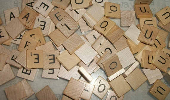 Scrabble Vowel Tiles Set of 100