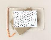 Valentine: Tiny Hearts Notecard Set