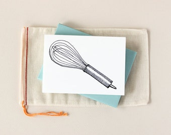 Sketchy Whisk Notecard Set