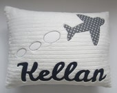 A Personalized Airplane Pillow