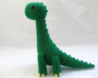 Crochet PATTERN PDF - Amigurumi Brachiosaurus Dinosaur - amigurumi dinosaur pattern, crochet dinosaur, amigurumi dinosaur toy, brontosaurus
