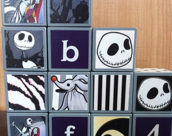 Nightmare Before Christmas Building Blocks