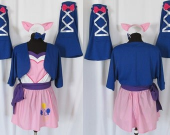My Little Pony Equestria Girls Pinkie Pie Cosplay Costume Size 4 6 8 10 12 14
