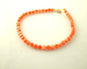 Coral Bracelet - Vintage