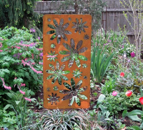 Privacy Accent Screen Garden Art Outdoor Room Divider