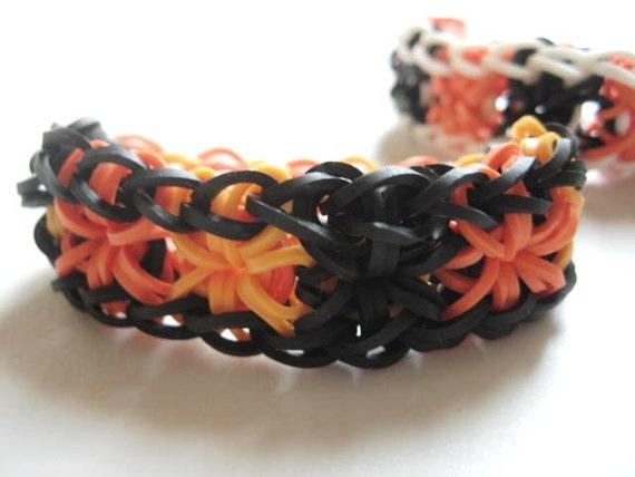 items similar to starburst rainbow loom stretch rubber