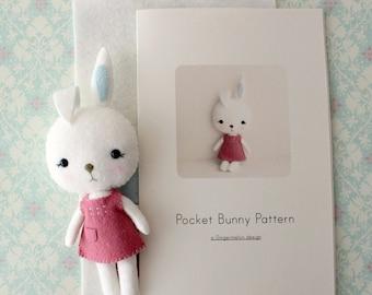 Pocket Bunny Pattern Kit