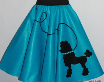 Adorable Ladies LuLu poodle skirt Your choice of Size and Color S,M,L,XL,2X,3X,4X,5X Prices from 55.00 and Up!