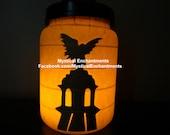 Angel Cemetery Statue Halloween Lantern