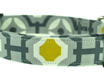 The Grover - Geometric Dog Collar
