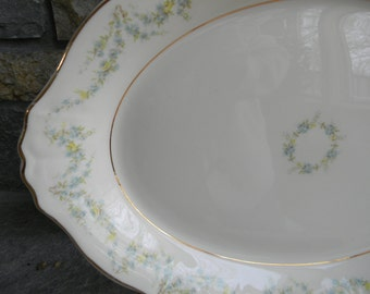 Vintage Federal Serving Platter Wedding Table Setting Decor tray Platter Farmhouse Chic