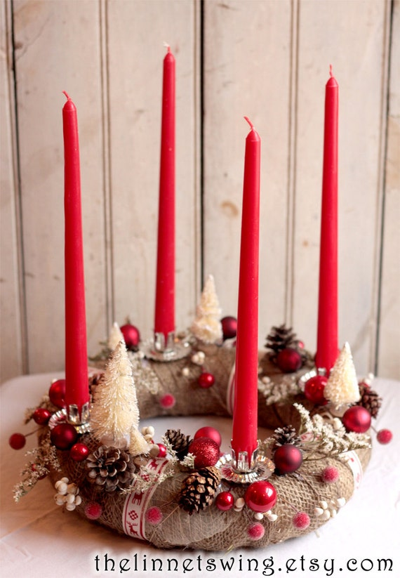 Alpine advent Wreath