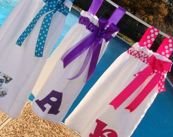 Swimsuit wrap / spa wrap / bath wrap - personalized
