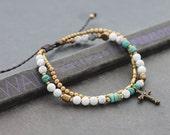 Sky Cross Layering Bracelet