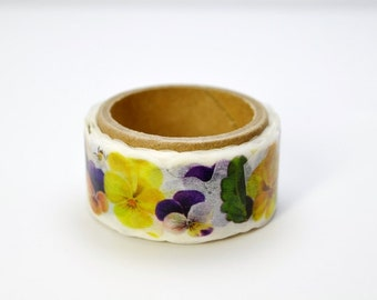 Flower Yano design debut series washi tape 20mm x 5M