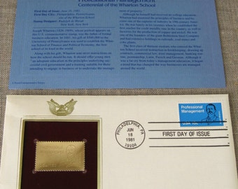 First Day Issue , Stamp , Gold Stamp , Commemorative Stamp , Management , Postage Stamp , Collectibles , Scrapbooking , Postage , Business