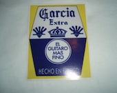 Garcia Extra - Sticker - Jerry Garcia - Grateful Dead - Lot sticker - Collectible