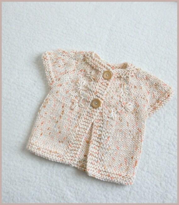 Love Knitting Free Patterns : Knitting Pattern Baby Sweater Lil Love Knitting Pattern