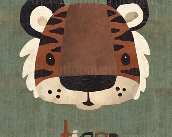 Tiger...Oh My! Print