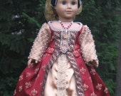 Elizabethan Gown for your American Girl