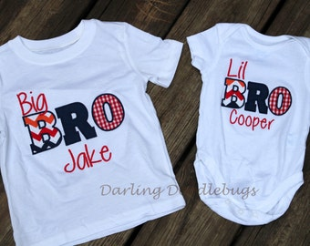 Big Little Brother Set  Sibling Shirts