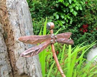 Dragonfly garden ornament