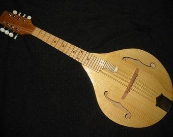 Handmade A-style Archtop Cherry Mandolin