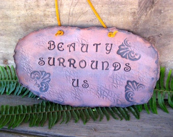 Wall Hanging Beauty Surrounds Us