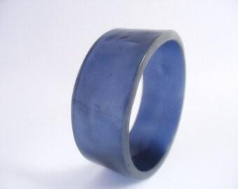 Blue Jewelry , Resin Bangle Bracelet , Jewelry , Broad Bangle , Petite Jewellery , Australia , Women Resin Jewellery , Resin Bangle