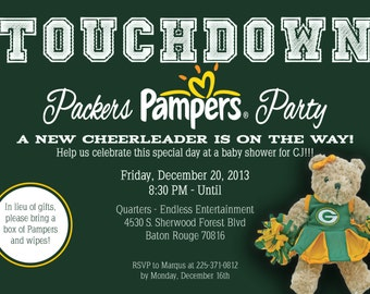 Baby Shower [Packers] Pamper Party