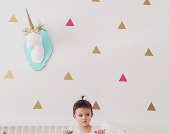 Vinyl Wall Sticker Decal Art - Triangles