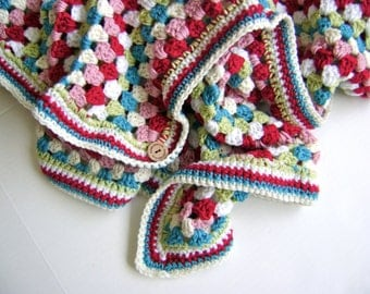 Cath Kidston Inspired Baby Blanket Pattern - Skill Level Easy - Great for Beginners