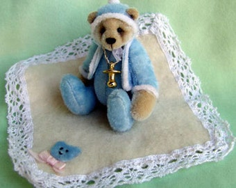 Jamie Miniature Teddy Bear E-pattern