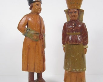 Wooden Collectable  Hand Carved Statues