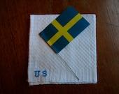 Vintage Swedish Handwoven: For US.