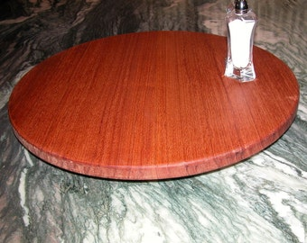 Lazy Susan - Wood Turntable - Game Board Accessory - Centerpiece