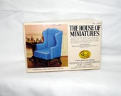 The House of Miniatures Chippendale Wing Chair Kit