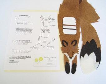 Fox Applique, DIY sew-on fox