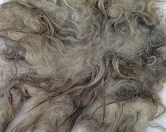 Icelandic sheep fiber piece of felt